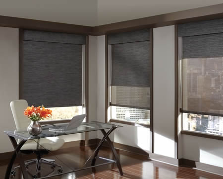 Dallas Tx Roller Shades Blackout Motorized Texas
